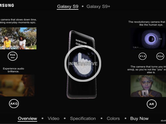 Samsung Galaxy S9 Configurator